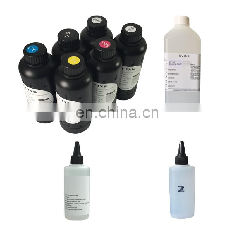 Hot Sale Grade A 500ml 1000ml uv flatbed printer ink