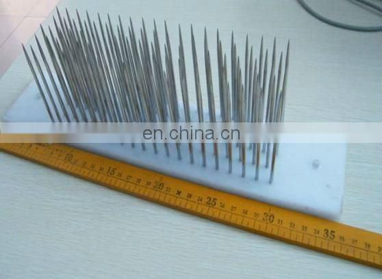 Top quality stainless steel remy hair hackle needle, hair straighten hackle,Hair Hackle needle