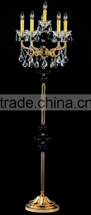 metal shade arc tripod floor lamp with marble base