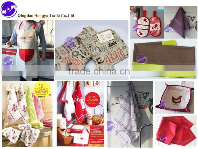 China wholesale custom printed 100% cotton dish towel
