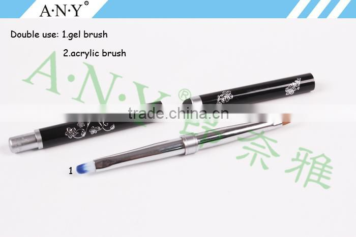 ANY Professional Nail Artist Beauty Competition Using Double Use Long-Handle Nail Brush