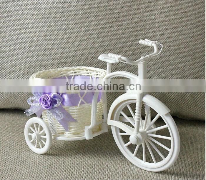 Hot sale big bicycle flower stand, bicycle for flower pot(AM-FP019)