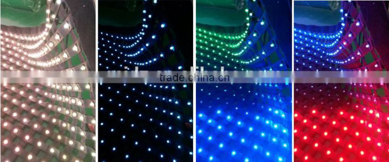Stage flexible popular led wedding cloth decoration