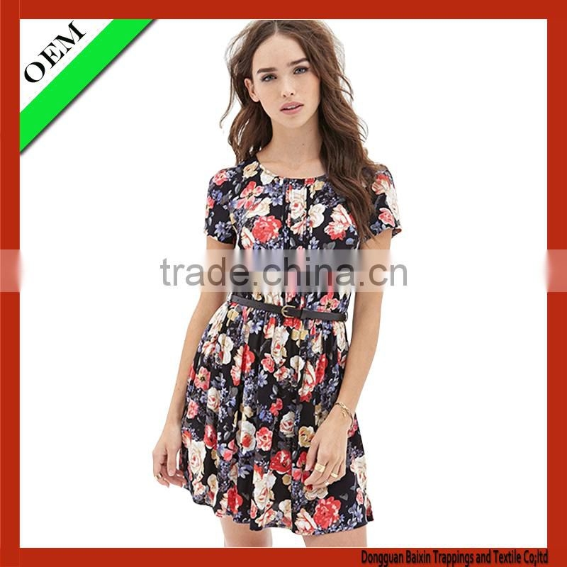 2016 custom ladies fashion dress wholesale china alibaba