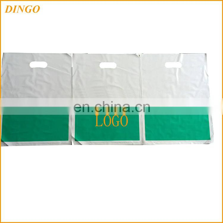 customized HDPE packing plastic bag for clothes