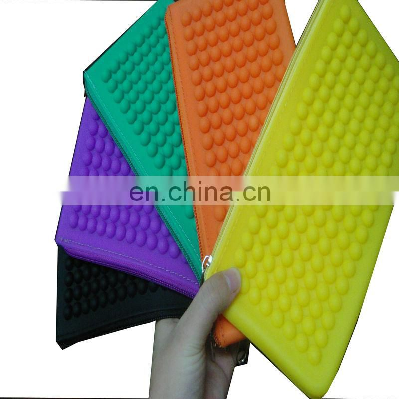 Silicone Wallet with zipper