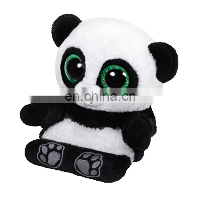Plush Toys TY Panda Soft Animal Moble Phone Seat