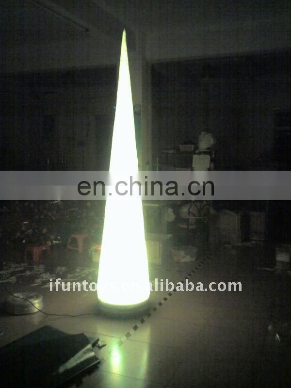 2011 Event inflatable tusk decoration with LED lights