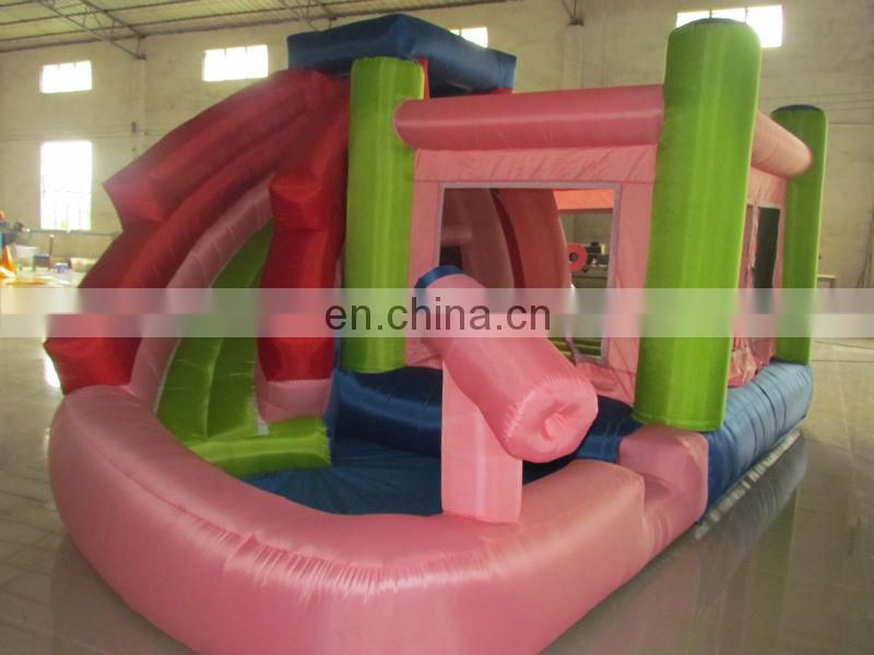 cheap inflatable water slides for sale,commercial grade inflatable water slides with gun