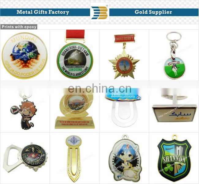 Beijing University metal custom 3d bookmark