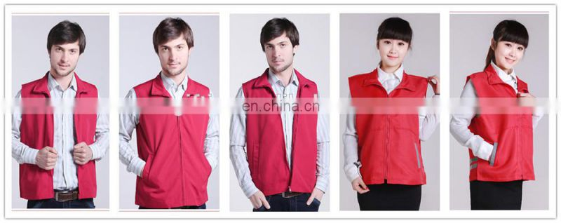 Hot Selling fashion customized and Printed or Embroidery sleeveless 100% silk feeling polyester vest