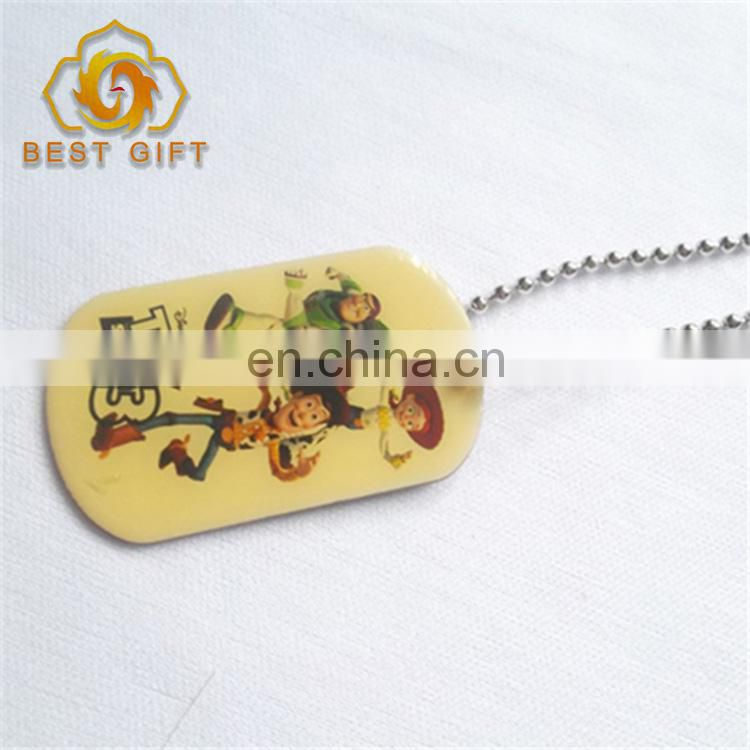 Wholesale Personalized Blank Custom Color metal dog tag