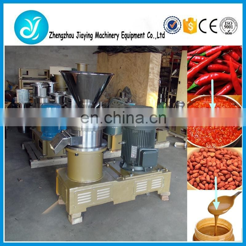 Hot pepper sauce grinding machine