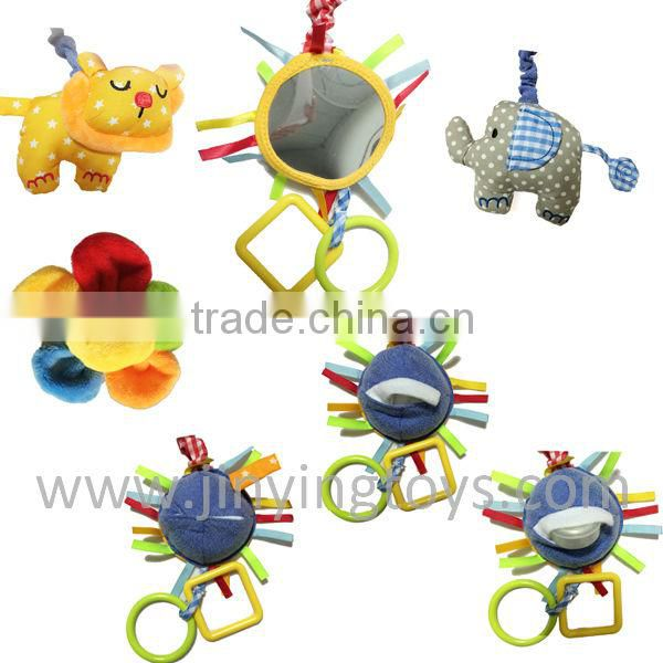 Funny plush products baby bed hanging toy