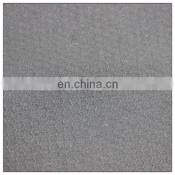 TC jacquard honeycomb solid fabric