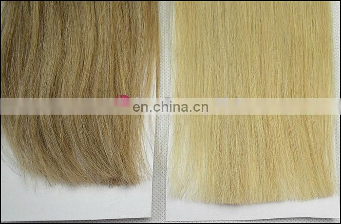 2013 New Peruvian Hair Weave Blonde