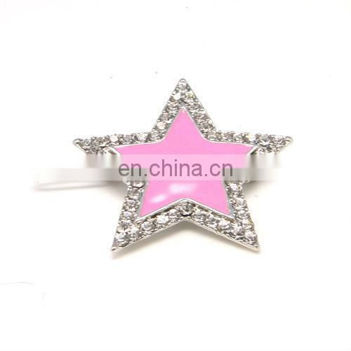 Fashion round metal rhinestone crystal bobby pin accessories