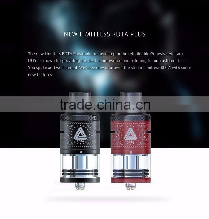 New Arrival!!2016 100% Original IJOY Limitless RDTA Plus Tank Is Coming Soon!