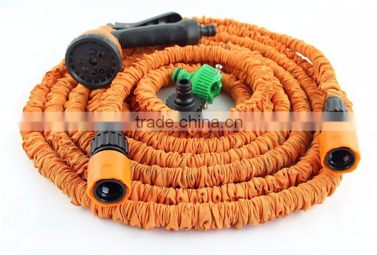 High Quality Retractable Custom Length Brass Fitting Expandable Garden Water Hose
