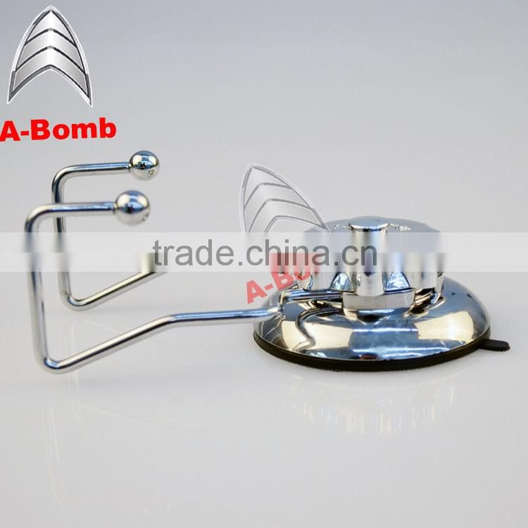 2016 A-bomb No drilling No tool No screw No rust 304 stainless steel TPU vacuum suction stainless steel hanging hook