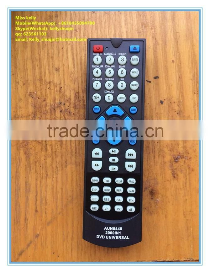 universal dvd remote control AUN0448 2000 IN 1 of ---middle east