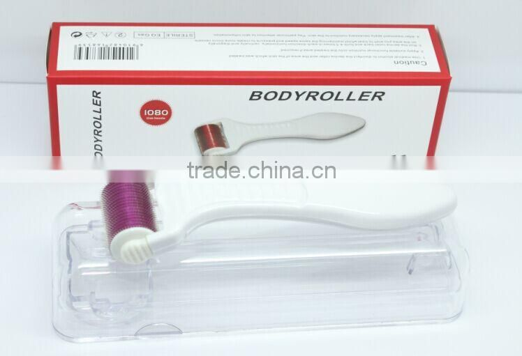 Newest microneedle derma body roller 1080 needles