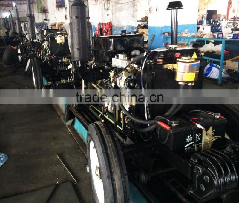 540 and 720 PTO Speed Diesel Engine 4WD 55HP tractor with