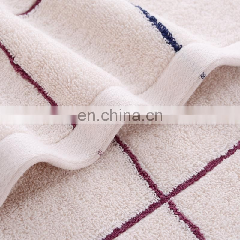 Wholesale custom 100% cotton hotel bath towel