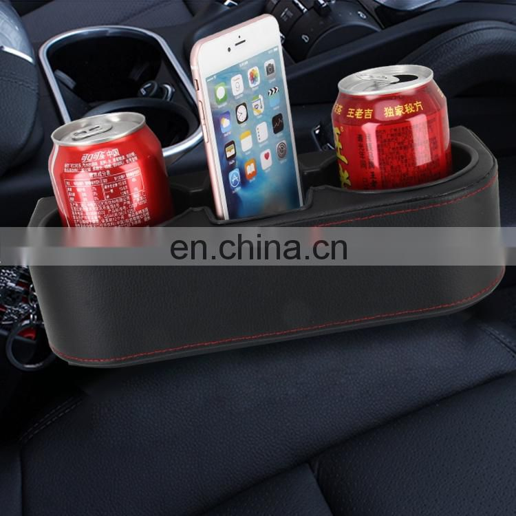 Car Seat Crevice Storage Box Cup Drink Holder Auto Pocket Stowing Tidying for Phone Pad Card Coin Case Car Accessories