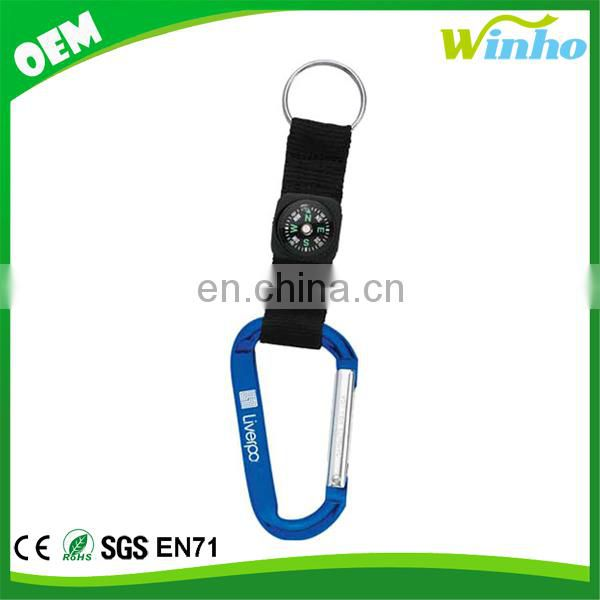 Winho Camouflage Carabiner Plus Compass