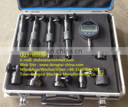 Common rail injector valve measuring tool