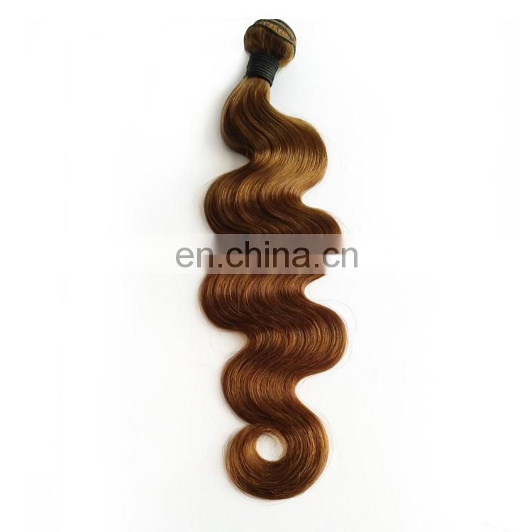 Bundle Weft Brazilian Peruvian Indian Remy Virgin human glow in the dark hair extension