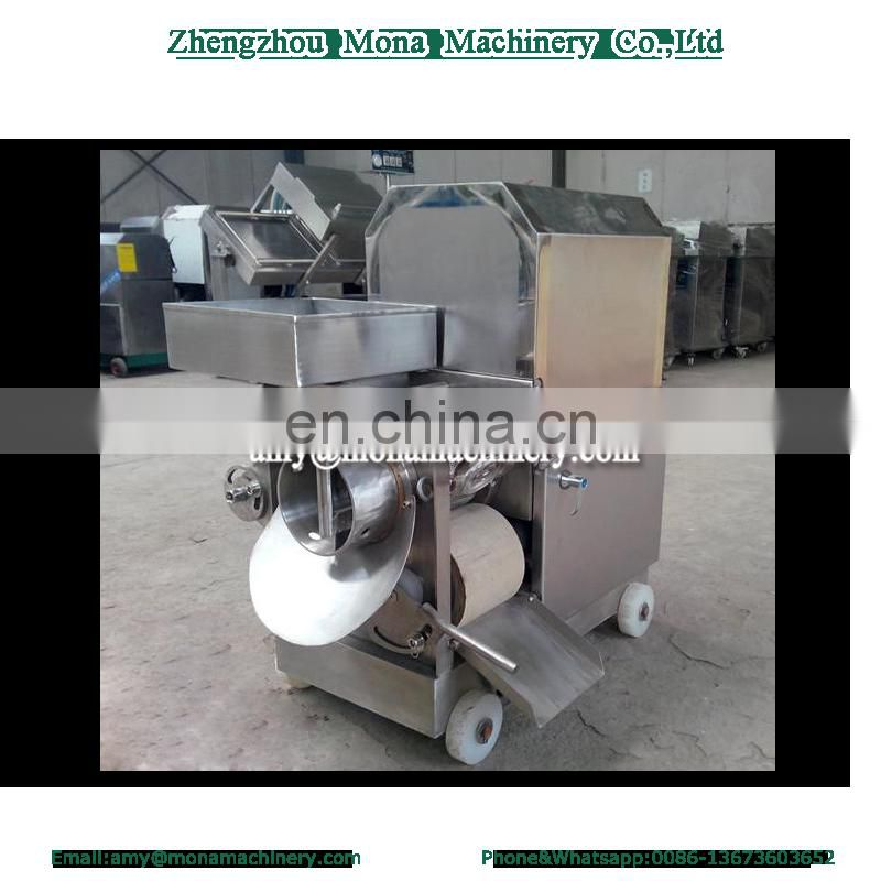 Lowest price automatic fish meat and bone separating machine fish bone removing machine