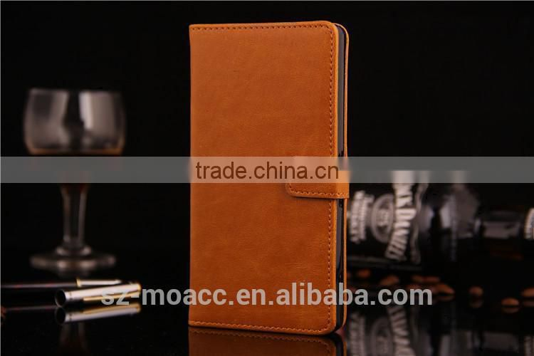 Flip leather case for sony xperia z3 from China Supplier