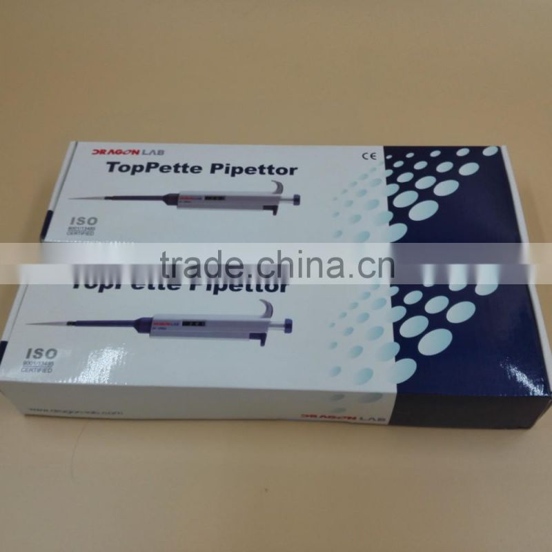 Dragob Lab Adjustable volume autoclavable laboratory micropipette
