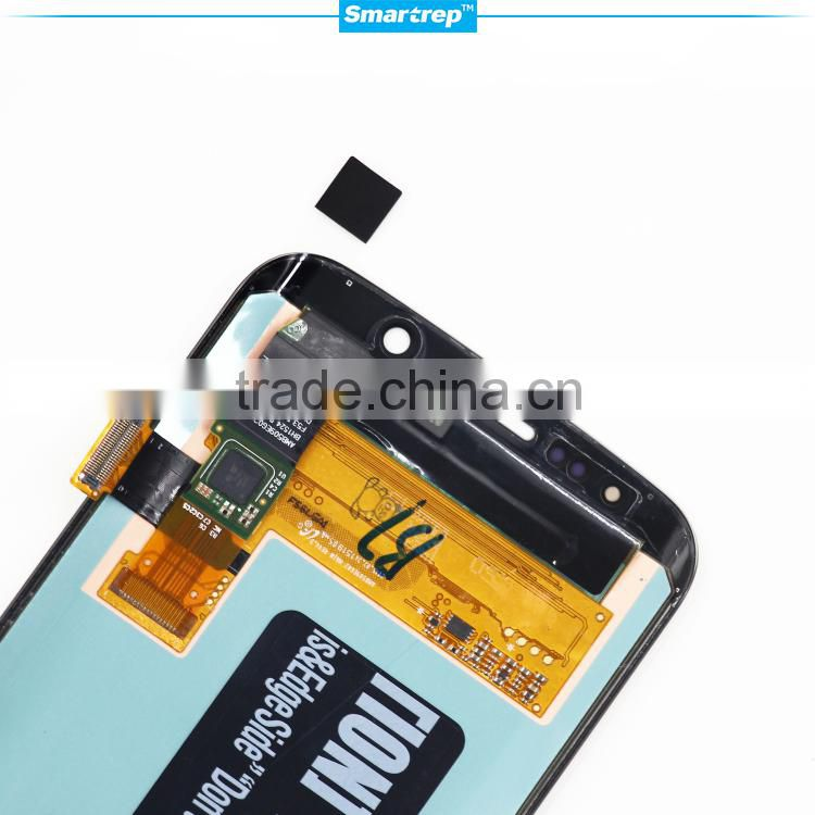 Cell phone parts from China for samsung galaxy s6 edge lcd touch screen, original lcd display for galaxy s6 edge