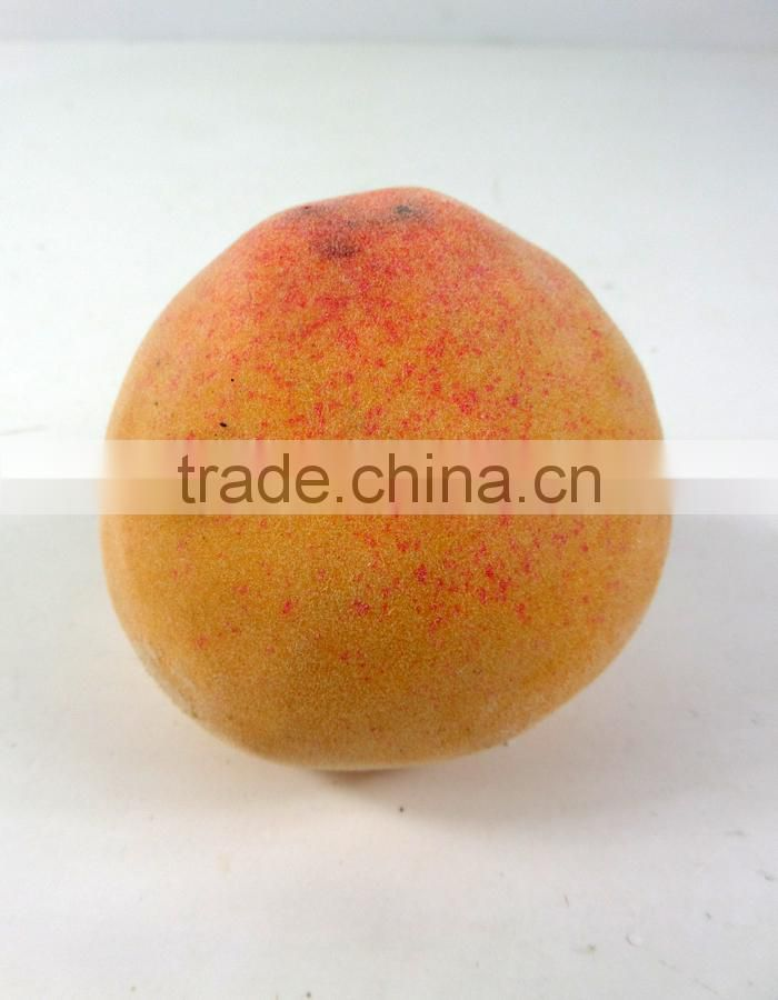 artificial plastic peach for decoration fake fruit