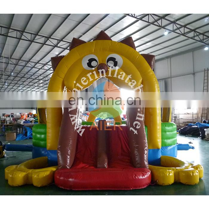2017 Outdoor &Indoor Inflatable Lion Jumping Castle ,Animal Inflatable Bouncer House for Kids