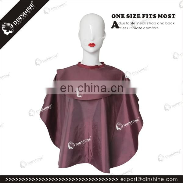 For beauty makeup non-woven salon disposable cape