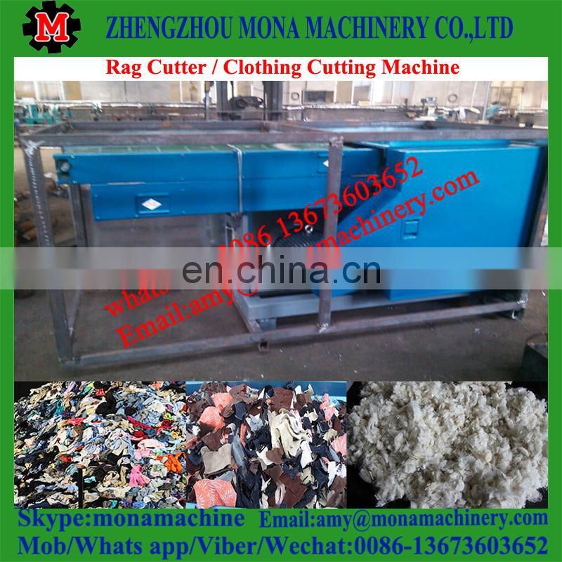 High efficient jeans recycling opening machine with good price