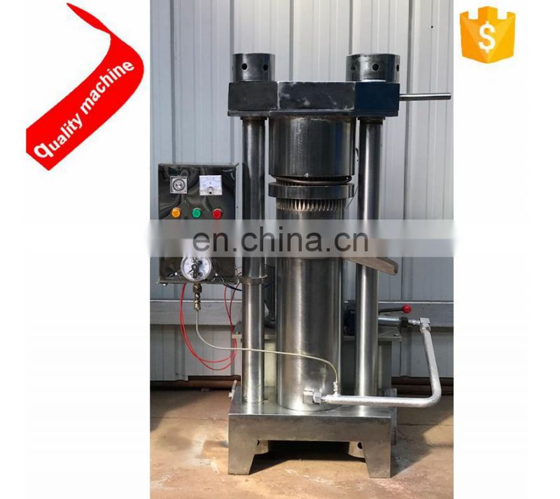 sesame/coconut/olive cold press oil making machine/hydraulic oil press machine for sale