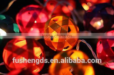 STRING LIGHTS BAMBOO BALL PARTY,PATIO,FAIRY,DECOR,CHRISTMAS,WEDDING