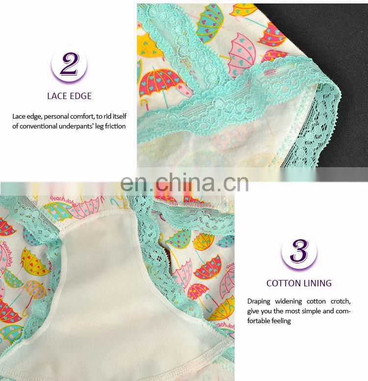 Floral Pattern Beautiful Sexual attraction sexy lace underwear women transparent