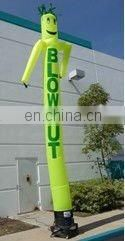 Inflatable air dancer tubes with 2 legs for outdoor advertising and event decoration