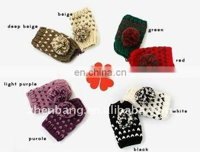 Custom Design Knit gloves professional maker