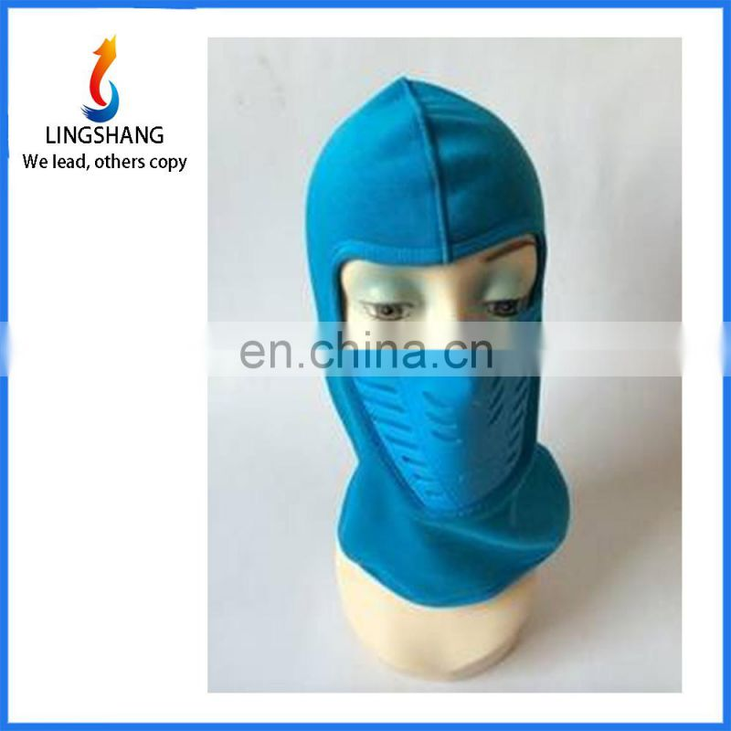 Wholesale cycling ski hat scarf balaclava fleece breathable ear windproof warm mask