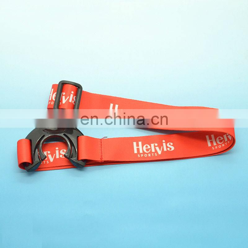 Promotion polyester water bottle holder lanyard