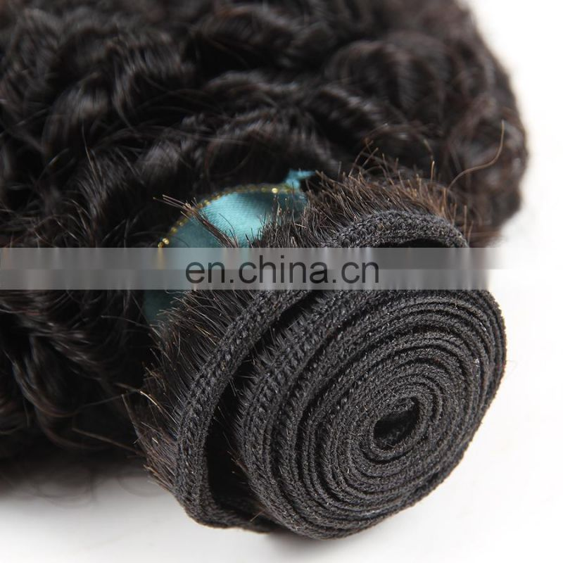 Pure brazilian bouncy curl human hair weave, virgin dye and bleach high quality hair