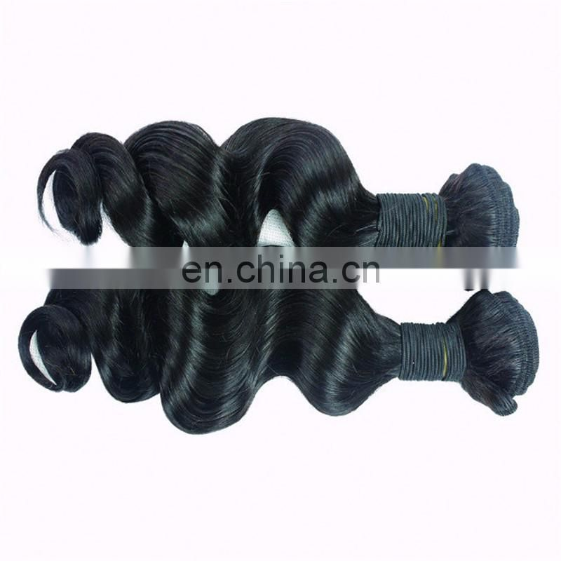 Dropshipping Cheap Unprocessed Hair loose wave 10A Grade bundles brazilian and peruvian weaves remy human hair extension