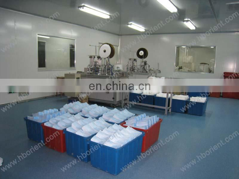 Nonwoven Shoe Covers with elastic rubber around all parts